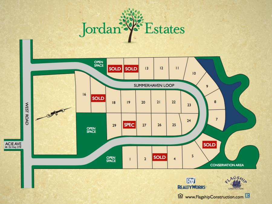 Jordan Estates Sitemap