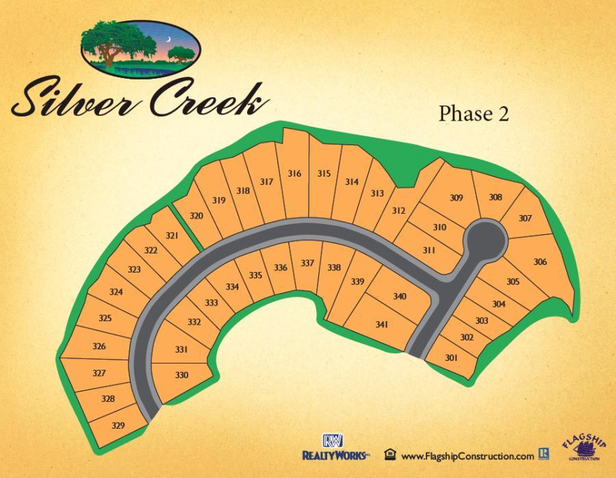 Silver Creek Sitemap