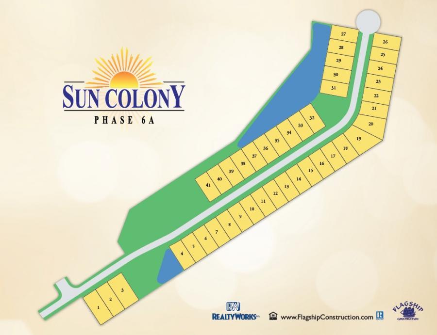 Sun Colony Sitemap
